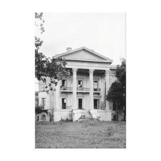 Belle Grove Plantation Louisiana Canvas Print