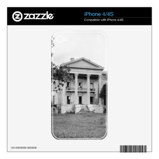 Belle Grove Plantation Louisiana Phone Skin Decal For The iPhone 4S