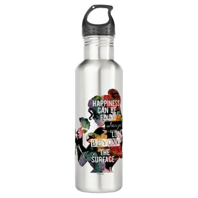 Belle - Happiness Can Be Found 24oz Water Bottle