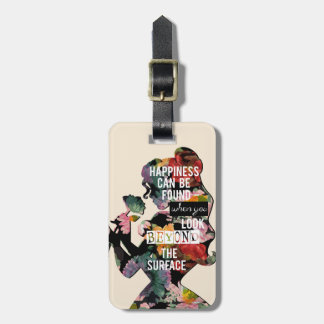 Belle - Happiness Can Be Found Bag Tag