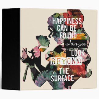 Belle - Happiness Can Be Found Binder