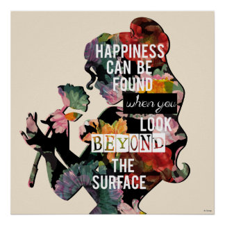 Belle - Happiness Can Be Found Poster