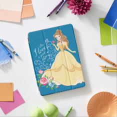 Belle | I Love A Good Story Ipad Air Cover at Zazzle