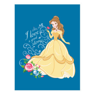 Belle | I Love A Good Story Postcard