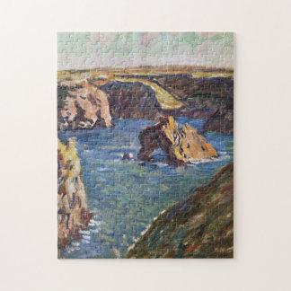 Belle-Ile Monet Fine Art Jigsaw Puzzle