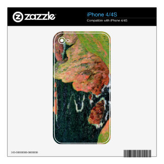 Belle Ile (oil on canvas) Skin For The iPhone 4