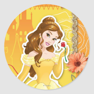 Belle - Inspirational Classic Round Sticker