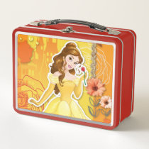 Belle - Inspirational Metal Lunch Box