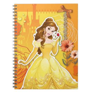 Belle - Inspirational Spiral Notebook