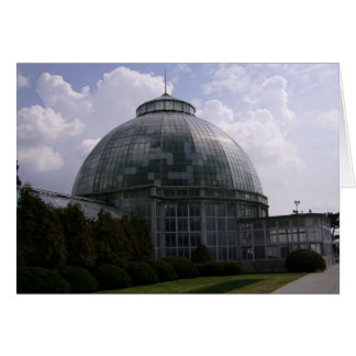 Belle Isle Conservatory Greeting Card