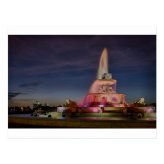 Belle Isle Fountain 0669 Postcard