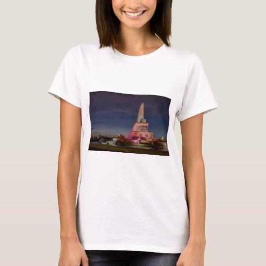 Belle Isle Fountain 0669 T-Shirt