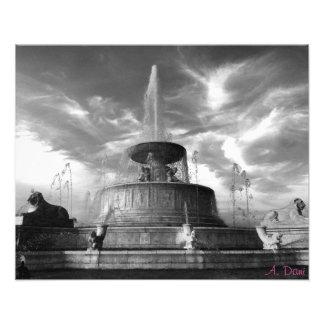 Belle Isle Fountain Photo Print