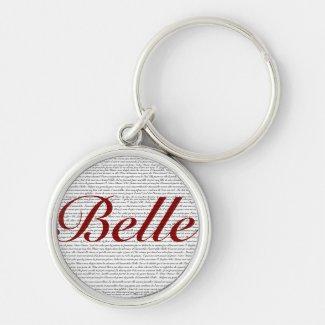 Belle Keychains