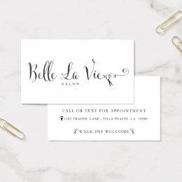 Belle La Vie Custom Business Cards