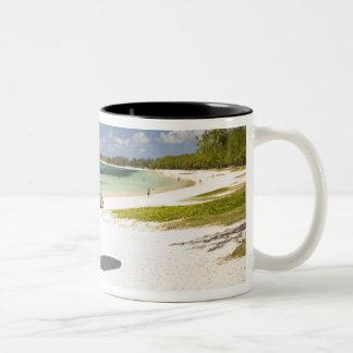 Belle Mare Public Beach, Southeast Mauritius, Two-Tone Coffee Mug