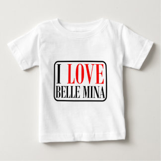 Belle Mina, Alabama City Design Baby T-Shirt