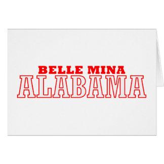 Belle Mina, Alabama City Design Card