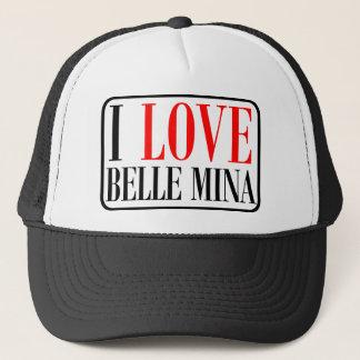 Belle Mina, Alabama City Design Trucker Hat