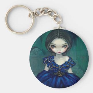 """Belle of Bonaventure"" Keychain"
