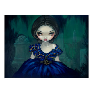 Belle of Bonaventure - Southern Gothic Art Print