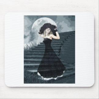 BELLE OF FULL MOON BALL MOUSE PAD