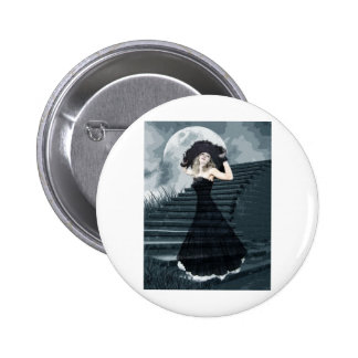 BELLE OF FULL MOON BALL PINBACK BUTTON