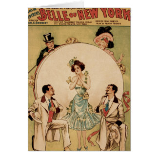 Belle of New York Greeting Card