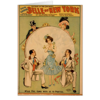 Belle of new york cards