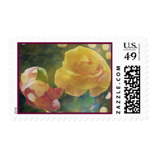 Belle of the Ball Postage Stamp
