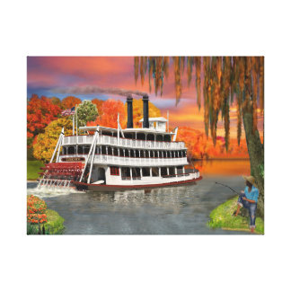 Belle of the Bayou Canvas Print
