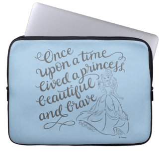 Belle |Once Upon A Time Laptop Sleeve