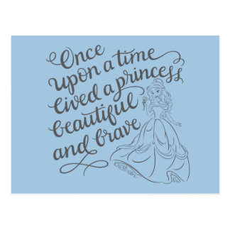 Belle |Once Upon A Time Postcard