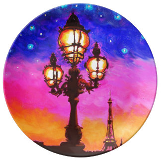 'Belle Paris' China Dinner Plate by Susi Franco Porcelain Plate