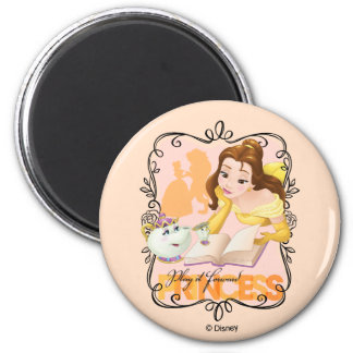 Belle   Play It Forward Princess 2 Inch Round Magnet