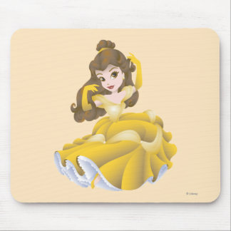 Belle Posing Mouse Pad