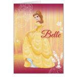 Belle Princess Card