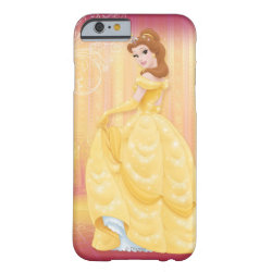 Case-Mate Barely There iPhone 6 Case with Belle in golden ball gown design