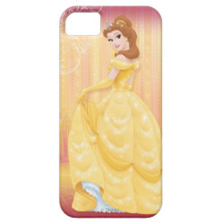 Case-Mate Vibe iPhone 5 Case with Belle in golden ball gown design