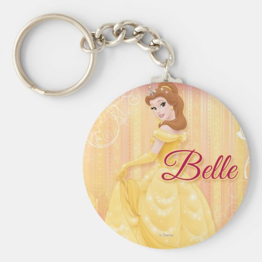Belle Princess Keychain
