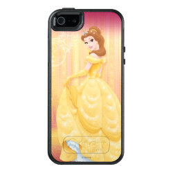 OtterBox Symmetry iPhone SE/5/5s Case with Belle in golden ball gown design