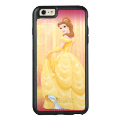 Belle in golden ball gown OtterBox Symmetry iPhone 6/6s Plus Case