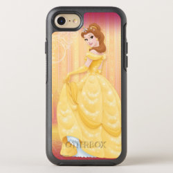OtterBox Apple iPhone 7 Symmetry Case with Belle in golden ball gown design