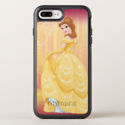 OtterBox Apple iPhone 7 Plus Symmetry Case with Belle in golden ball gown design
