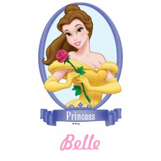 Belle Princess zazzle_shirt