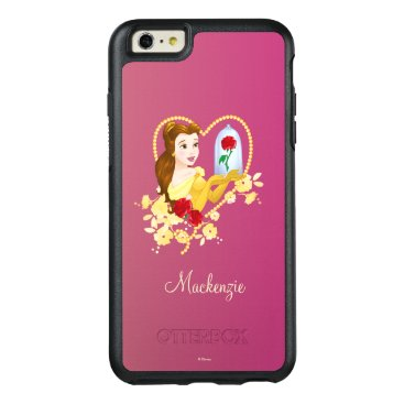 Disney Themed Belle   Red Roses OtterBox iPhone 6/6s Plus Case