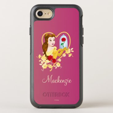 Disney Themed Belle   Red Roses OtterBox Symmetry iPhone 7 Case