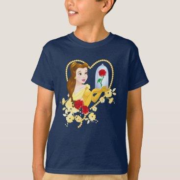 Disney Themed Belle   Red Roses T-Shirt