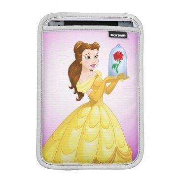 Disney Themed Belle   Rose In Glass iPad Mini Sleeve