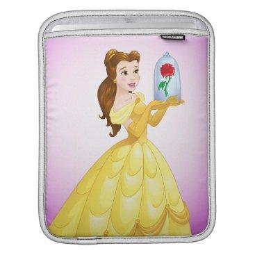 Disney Themed Belle   Rose In Glass iPad Sleeve